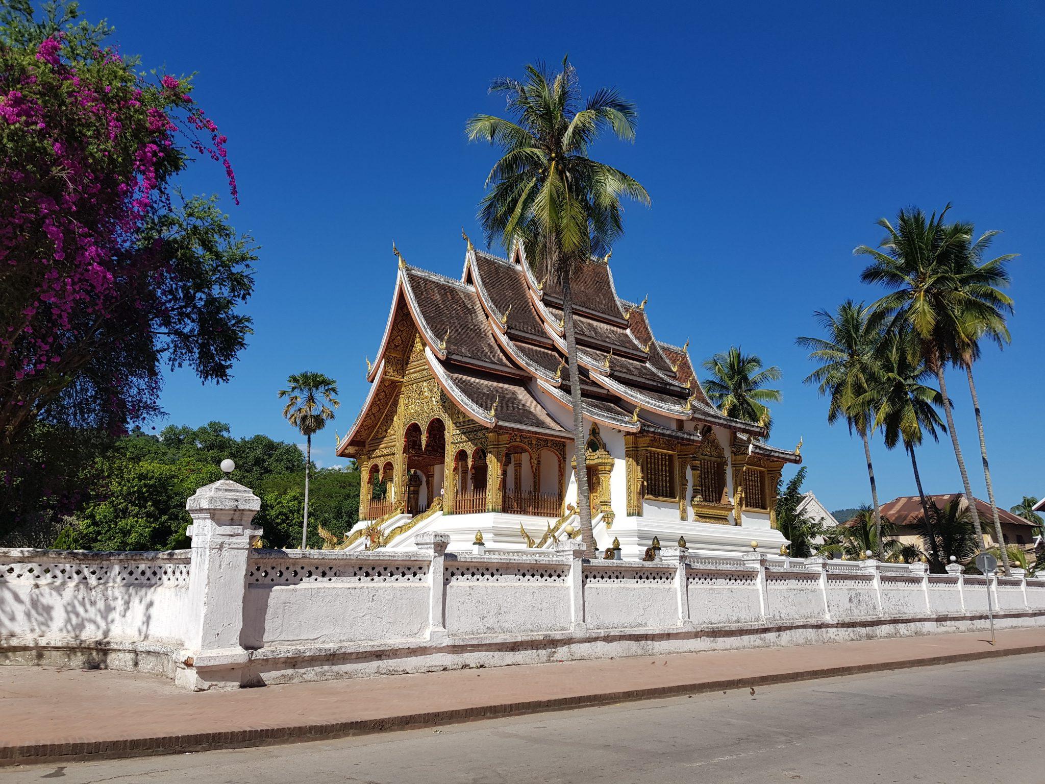 Temple in der alten Hauptstadt Laos (Luang Prabang)