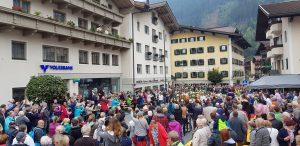 Großes Almabtriebsfest mit Dorffest in Zell am Ziller