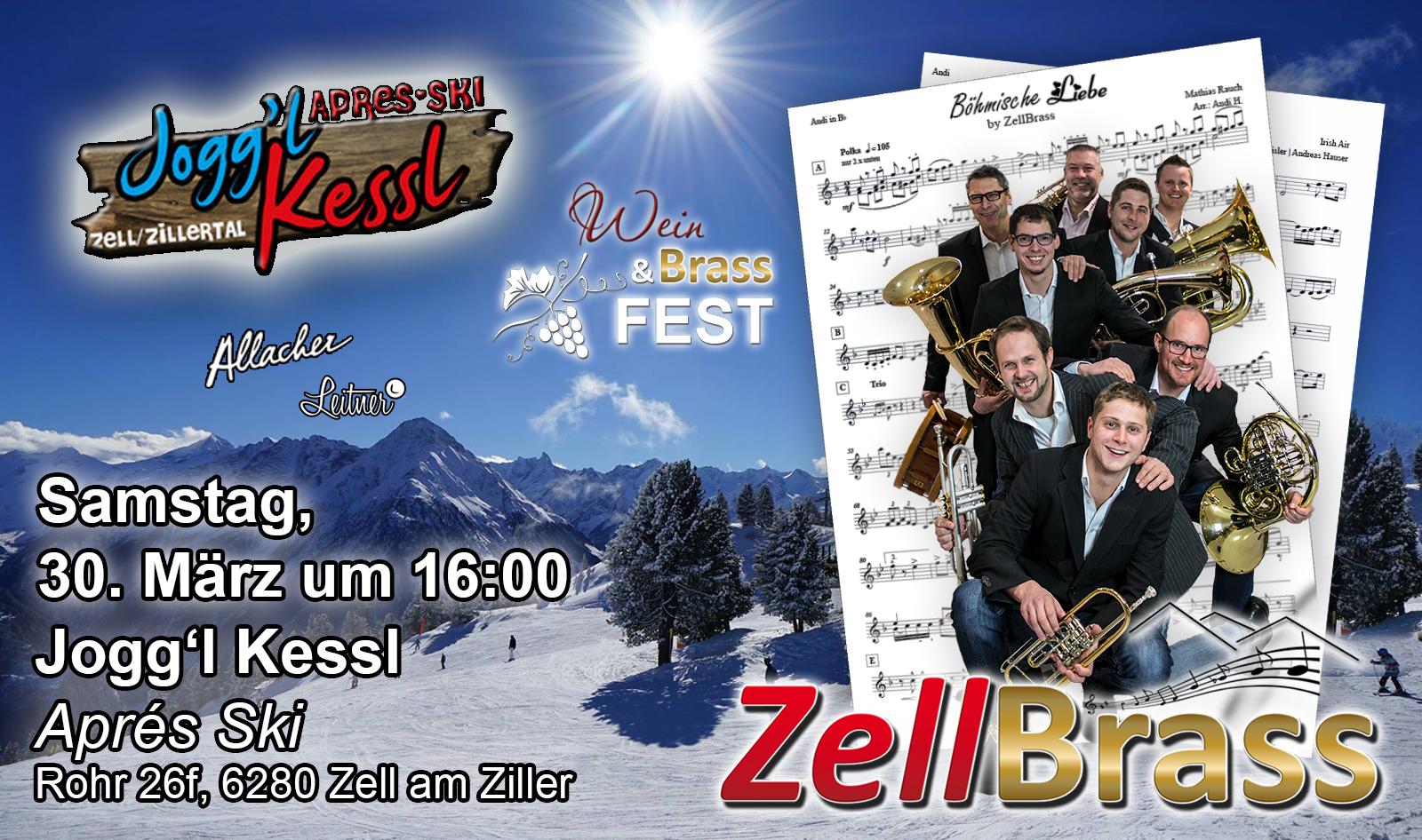 5. Wein und Brassfest mit ZellBrass