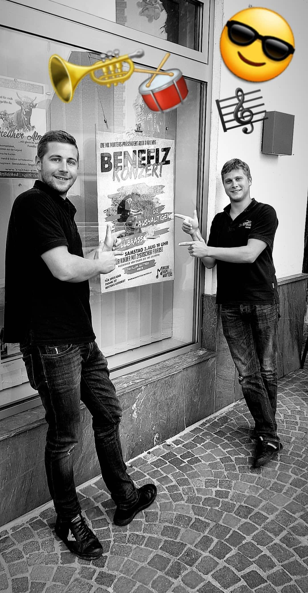 ZellBrass Benefizkonzert Mutters 2019